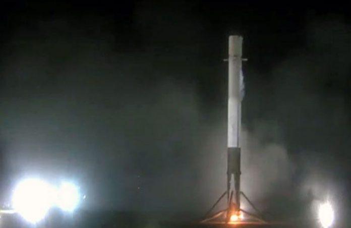 Foto: Reprodução/vídeo Divulgação Space X