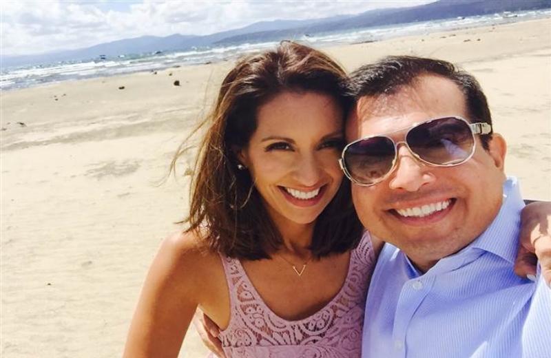Neta Leticia Ordaz e marido acaba de celebrar o seu próprio 10º aniversário/Foto: Arquivo Pessoal