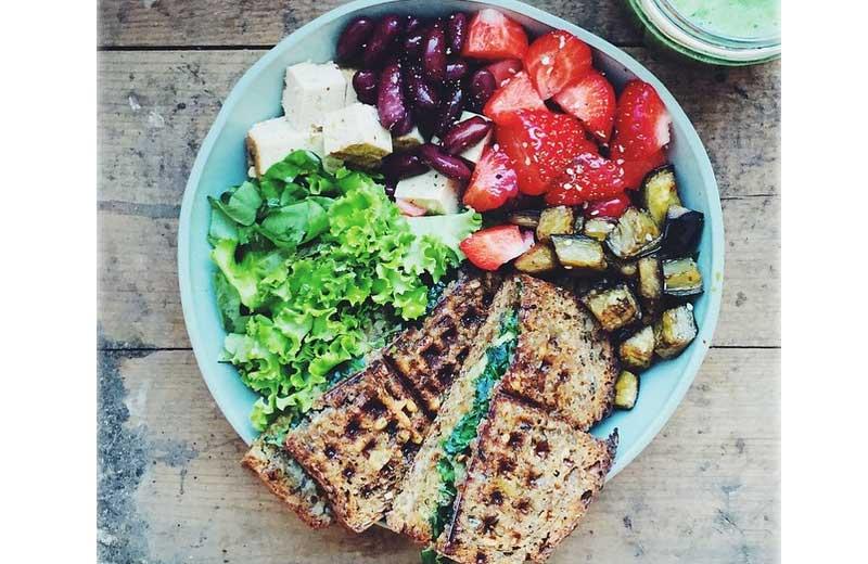 Prato perfeito: proteína, verduras, legumes e carboidratos de qualidade - Foto: Instagram @gkstories / Reprodução