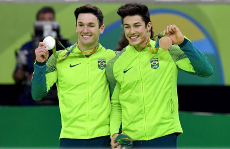 Diego e Arthur Nory - Foto: Getty Images
