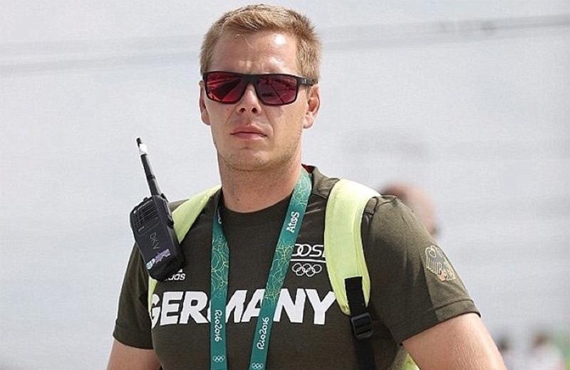 Stefan Henze, técnico da seleção alemã de canoagem