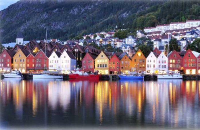 Noruega/Aurora Boreal - Foto: Pinterest