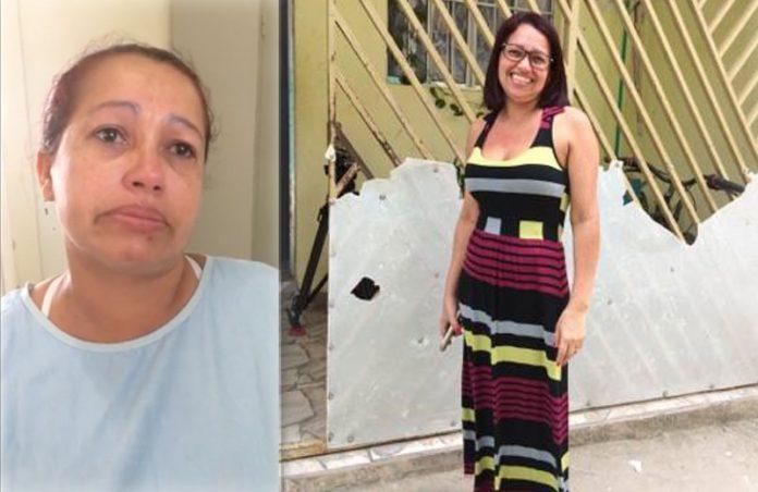 Joseane antes e depois da cirurgia - Fotos: arquivo pessoal/reprodução Youtube