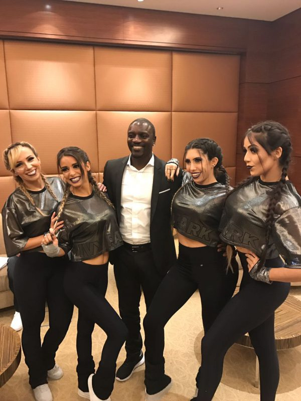 Blow Up e Akon - Foto: arquivo pessoal