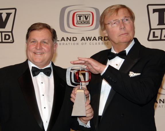 Burt Ward e Adam West em 2006 - Foto: Stephen Shugerman / Getty Images North America/AFP