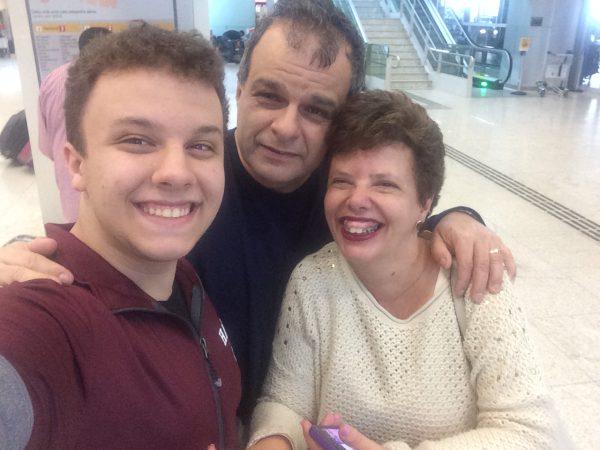 Léo, Luigi e Ana Lúcia - Foto: arquivo pessoal