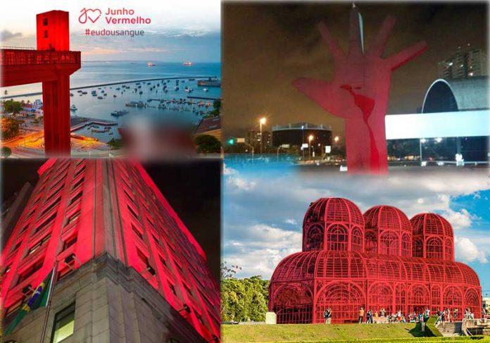 Fotos: reprodução / Facebook / Eu Dou Sangue