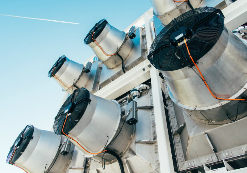 Filtro de CO2 - Foto: Julia Dunlop