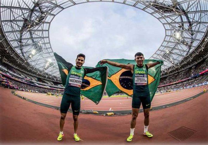 Petrúcio Ferreira (dir) e Yohansson Nascimento - Foto: Divulgação/Comitê Paralímpico Brasileiro