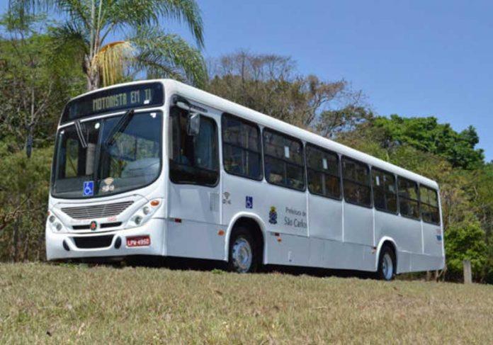 Ônibus da Suzantur / São Carlos - Foto: reprodução