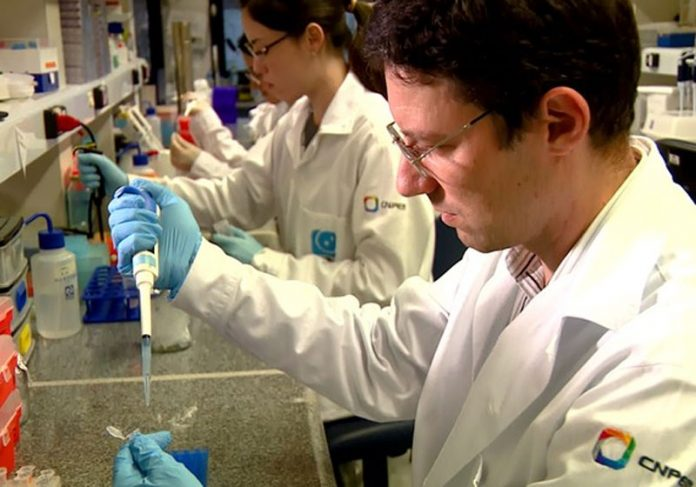 Cientista trabalha na vacina Foto: reprodução CNN|Foto: reprodução CNN