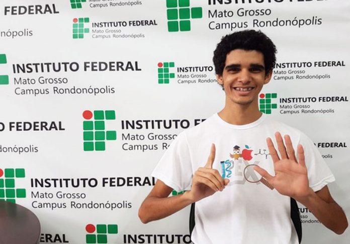 Luan Galdino - Foto: IFMT/Assessoria