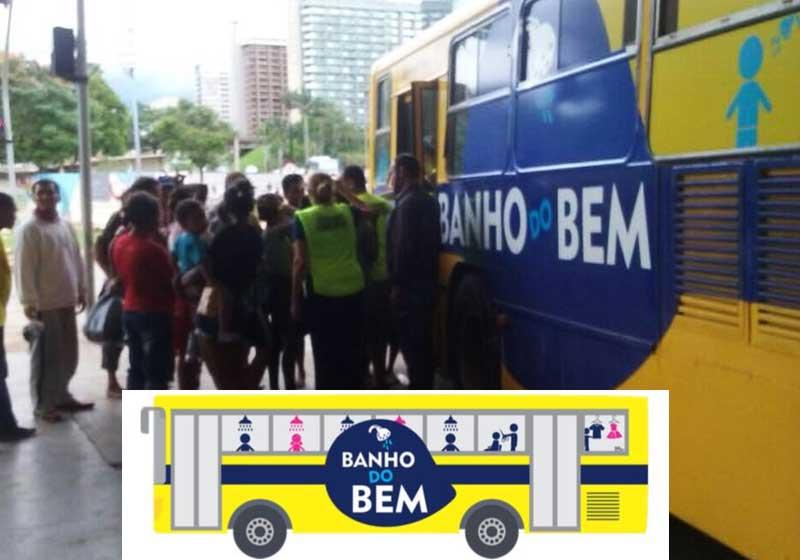Foto: Banho do Bem