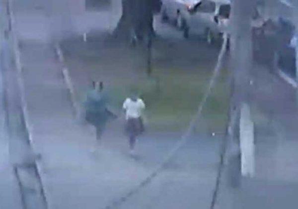 Eleandra identificou o momento que duas mulheres passavam pela avenida - Foto: Guarda Municipal/Divulgação