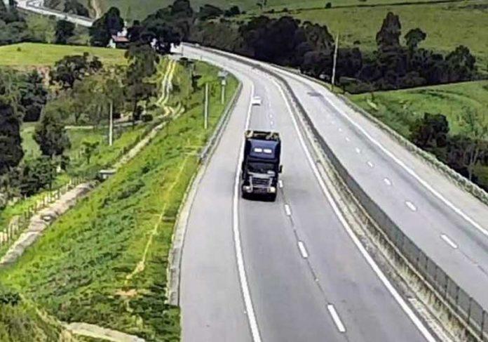 Rodovia dos Tamoios - Foto: reprodução / Concessionária Tamoios