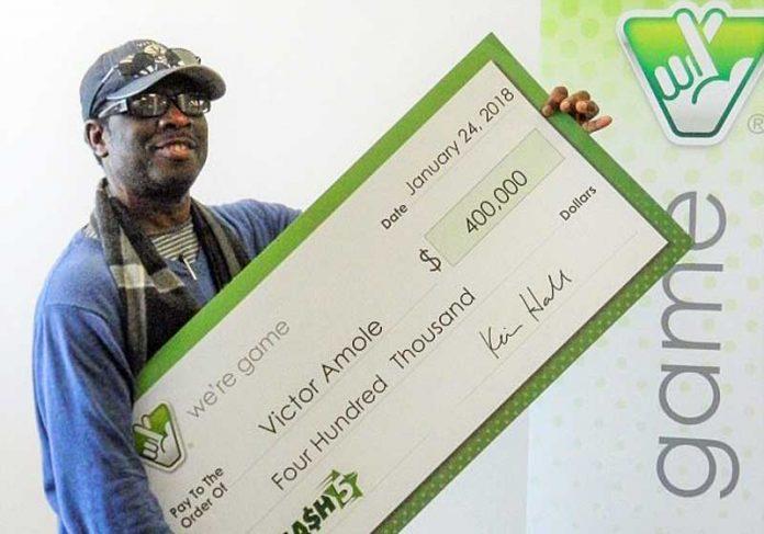 Victor Amole - Foto: VA Lottery