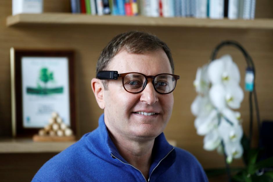 Ziv Aviram, criador do OrCam MyEye - Foto: REUTERS/Nir Elias