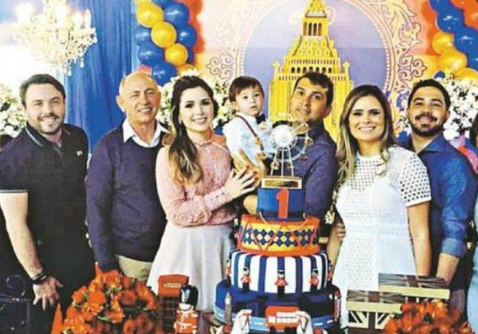 O juiz José Fernando com os filhos Foto: Arquivo Pessoal