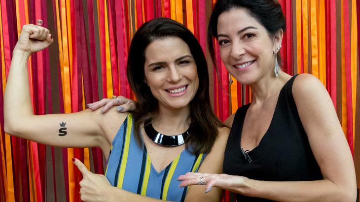Natália Leite e Ana Paula Padrão - Foto: divulgação / TV Band