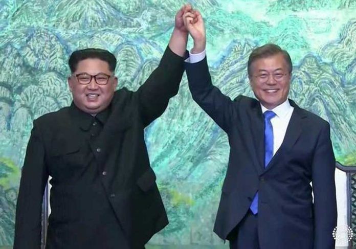 Kim Jong-un e Moon Jae-in / Foto: Reuters