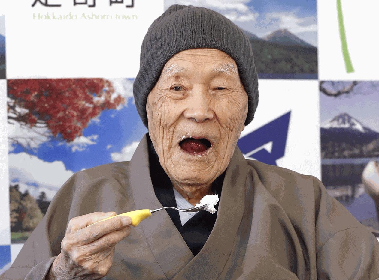 Masazo adora doces - Foto: Kyodo/via REUTERS