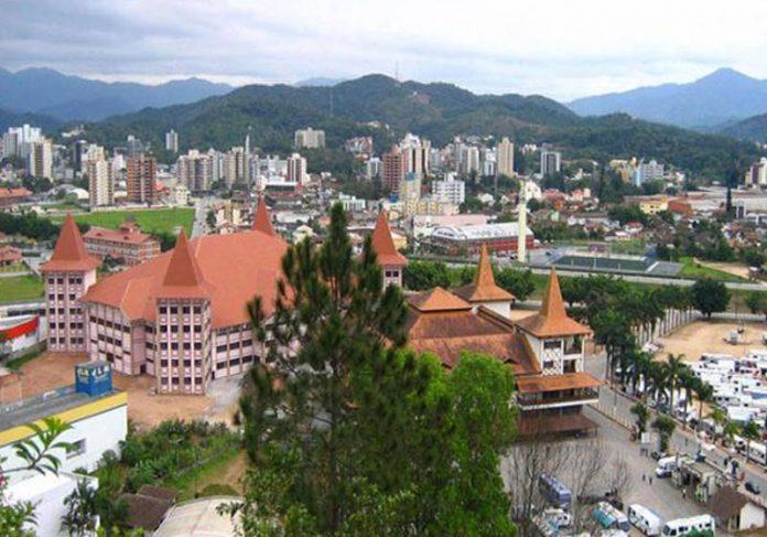 Brusque - cidade mais segura do Brasil - Foto: reprodução / Wikipedia
