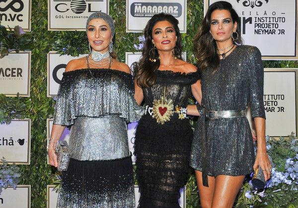 Sabrina Sato, Juliana Paes e Fernanda Motta Foto: Divulgação