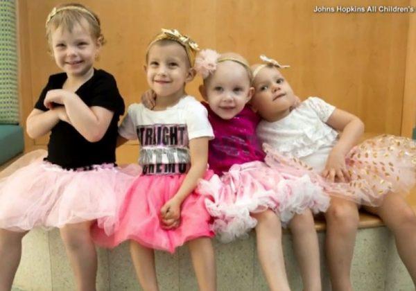 As amigas na época do tratamento - Foto: Johns Hopkins Hospital