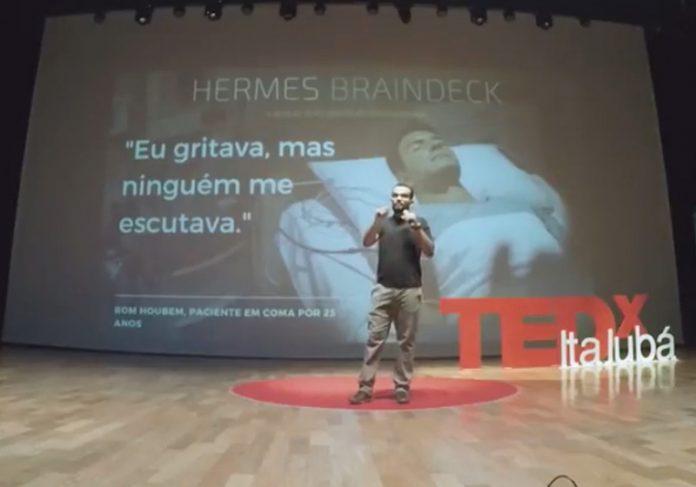 Luiz Fernando Borges em palestra no TEDx - Foto: reprodução / Youtube 