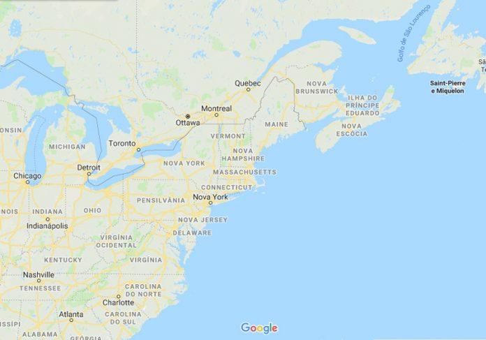 Maine/EUA - Foto: GoogleMaps