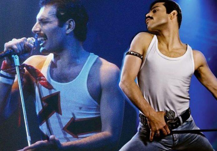 Freddie Mercury e Rami Malek - Fotos: divulgação