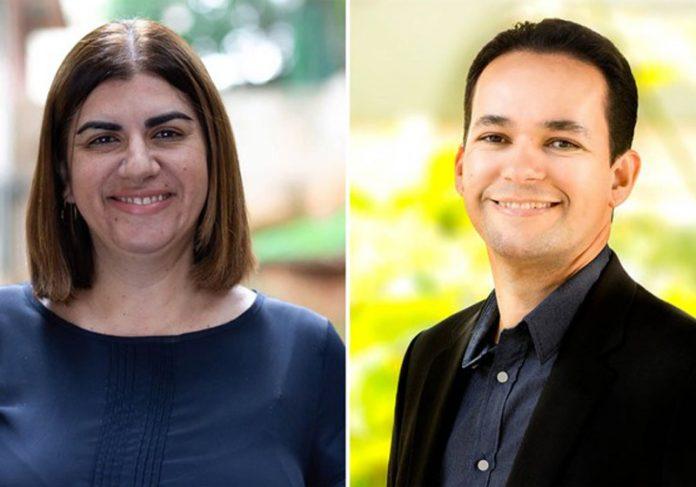 Professores Débora e Jayse - Fotos: divulgação