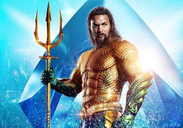 Jason Momoa como Aquaman Foto: Divulgação