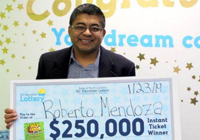 Foto: Loteria Carolina do Norte