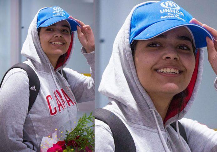 Rahaf Mohamed - Foto: Lars Hagberg / AFP|Rahaf Mohamed - Foto: Lars Hagberg / AFP