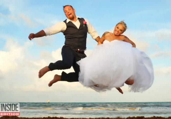 Os noivos - Foto: reprodução / Del Sol Photography / InsideEdition  