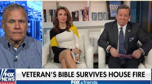 Scot dá entrevista para a Fox News Foto: reprodução