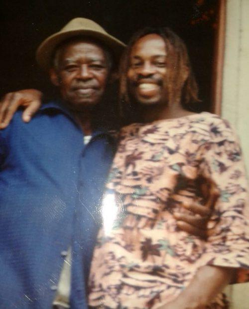 Denton e o pai Benjamin - Foto: SWNS