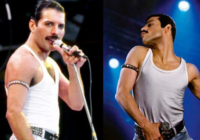 Mercury e Malek - Foto: reprodução