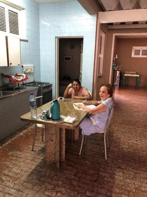 Maria e dona Ione - Foto: Manuela Praxedes/arquivo pessoal