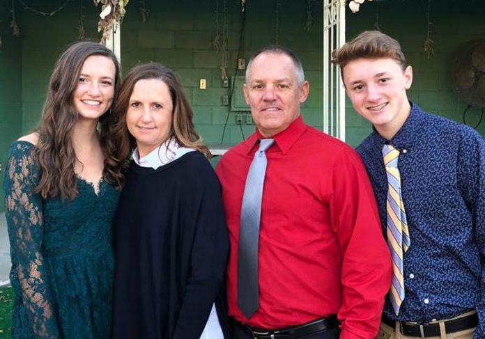 A família de Mark Johnson - Foto: arquivo pessoal|