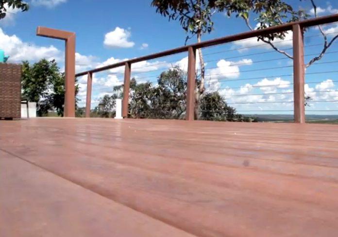 Deck de madeira plástica - Foto: reprodução / Momento Ambiental