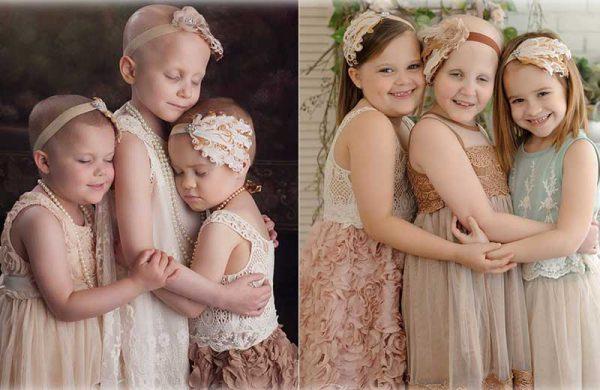 As amigas em fotos anteriores - Fotos: Lora Scantling