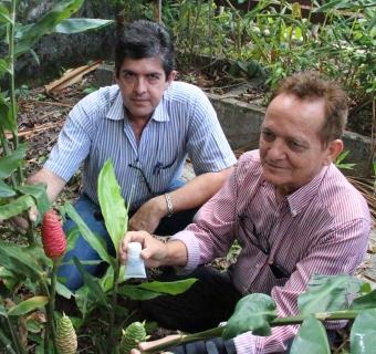 Maurício e Cleomir - Foto: Inpa