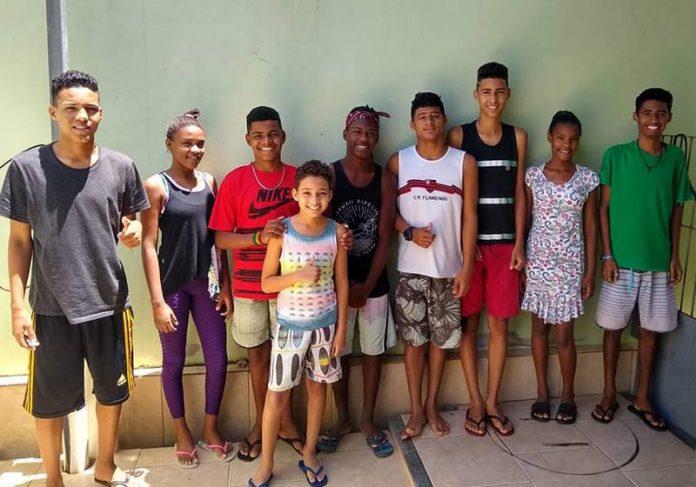 9 filhos do Uanderson - Foto: reprodução autorizada / Facebook||
