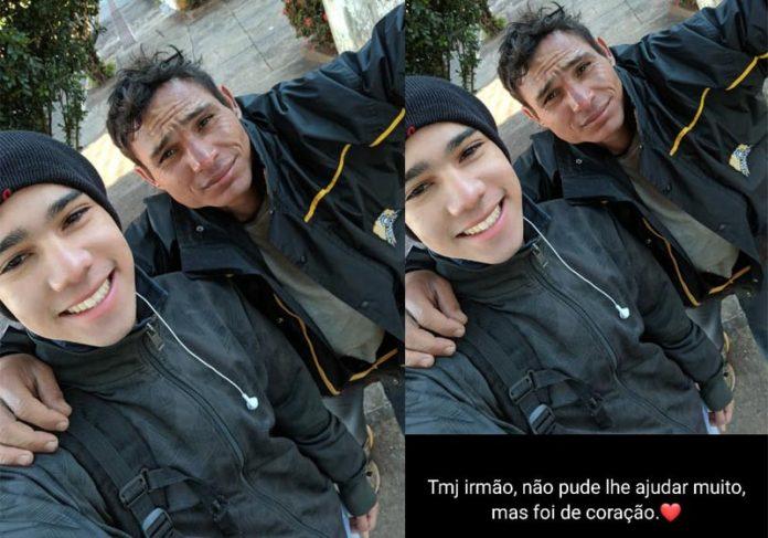 Adrian e Arlan - Foto: Adrian Silva Alves/Arquivo Pessoal