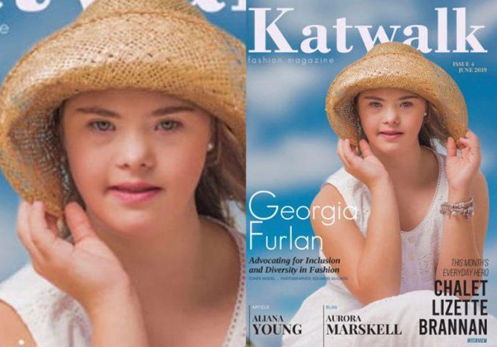 Geórgia Furlan - Foto: Reprodução G1/ Katwalk Kids Fashion Magazine||