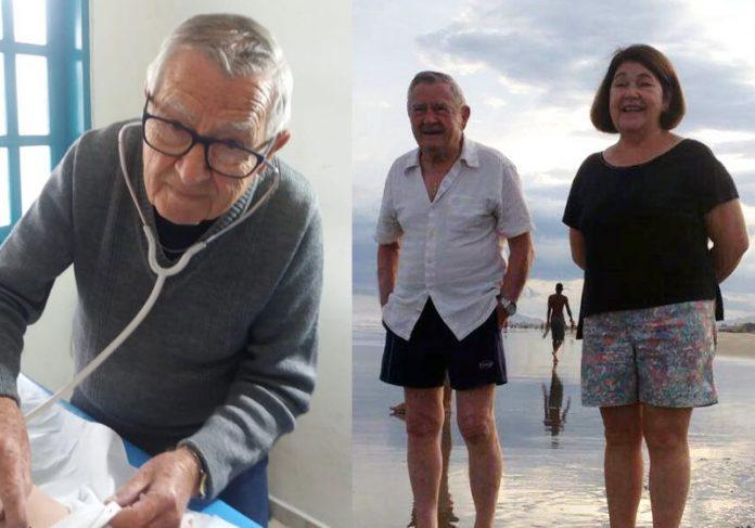 Dr. Ivan e a esposa - Fotos: arquivo pessoal/