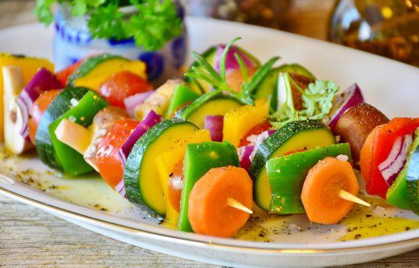 Espetinho vegano - Foto: Pixabay
