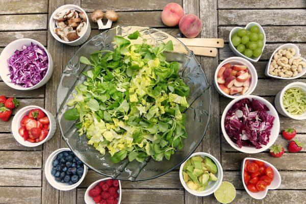 Salada sortida - Foto: Pixabay